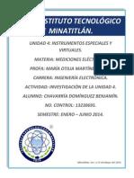 Mediciones Eléctricas Unidad 4