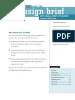 Centrifugalpumps EDR DesignBriefs