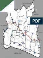 Map of Kebumen