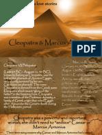 Cleopatra & Marcus Antonius