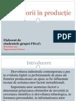 Neofactorii in Productie