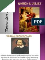 Famous Love Stories - Romeo & Juliet