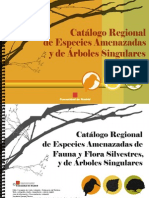 Catalogo Regional Especies Amenazadas de Madrid