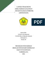 Laporan Praktikum Kel 6 Amox