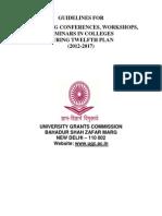 8622597 Guideline Seminars UGC  Guideline Seminars for engineering college