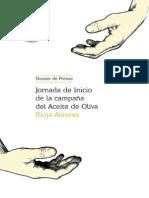 Dossier Jornadas Oleícolas 2014