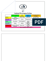 Jadual Bertugas Kelas