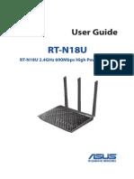 Asus RT-N18U manual