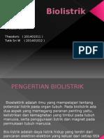 Biolistrik Fisika Kesehatan