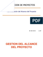 0201 Gestión Del Alcance