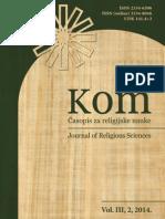 Doktrinarna gnoza u islamu; položaj i značaj