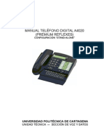 Manual Telefono Digital 4020 Stand-Alone