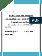 61162857 Energie Renouvelables Maroc