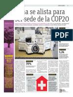 Lima Se Alista Para Ser Sede de La COP20