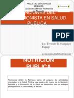 Funcones Nutriconista Publico