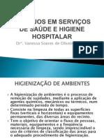Higiene hospitalar