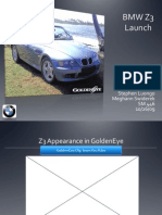 BMW Z3 Roadster Product Launch Case Analysis