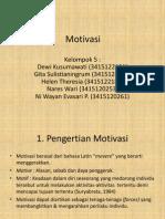 Motivasi 2003