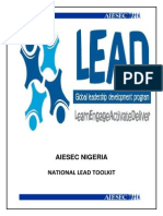 10306483 Aiesec Nigeria National Lead Toolkit