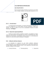 17.- Métodos de Protección Radiaciones Ionizantes