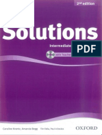 Solutions 2nd Ed - Interm - TB