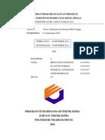 Cover Laporan Praktikum Satuan Proses II