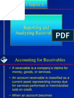 Accounting for Receivables
