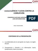 Transparencia y Lucha Contra La Corrupcion