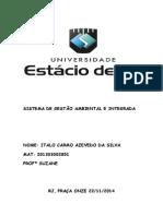 Sistema de Gestão Ambiental e Integrada 2