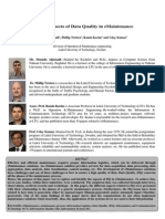 Study of Aspects of Data Quality - COMADEM International Journal