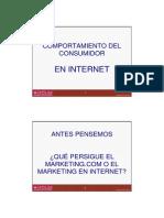 Comportamiento Del Consumidor en Internet
