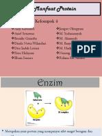 Ppt Biokimia Manfaat Protein