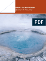 Geothermal Development and Research in Iceland