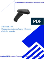 Manual  HR-100 (inglês)