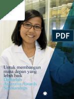 Australia Awards Indonesia Brochure