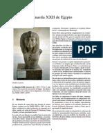 Dinastía XXII de Egipto