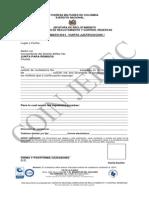 ANEXO B Formato R-01 Carta de Justificacion