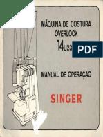 Singer Overlock 14U 23A1