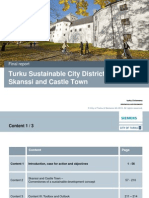 Turku Sustainable City Districts Full Analysis (September 30th 2013)