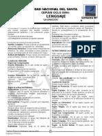 LA ORACIÓN GRAMATICAL (1).doc