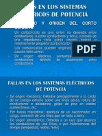 fallas asimetricas  de un sistema electrico de potencia