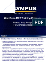 MX2 Training Program 14G Phased Array Analysis-Flaw Charaterization
