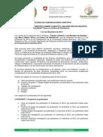 Convocatoria Publicacion Cientifica 2014