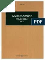 Pulcinella by Stravinsky, Igor