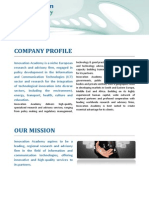 innovation academy company profile