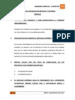 2do Examen de Organización Métodos y Sistemas - Jlopez