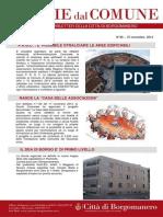 Notizie Dal Comune di Borgomanero del 27 Novembre 2014