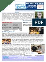 Kingsbury Newsletter November 2014