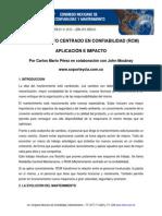 Mantenimiento Centrado en Confiabilidad (RCM) - Carlos Mario Pérez