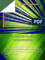 Evolucion de Las Computadoras